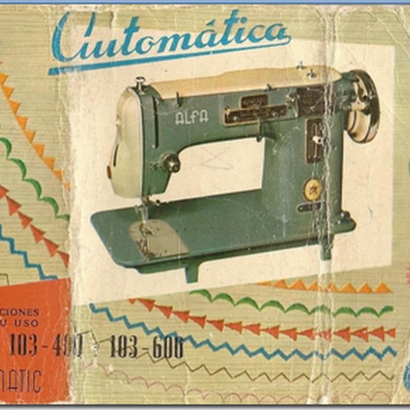 manual maquina alfamatic modelo 103 -  400 y 103 -600