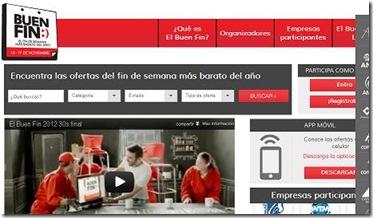 elbuenfin.com tiendas participantes del 16 al 19 de noviembre compra en linea dos por 1 guadalajara