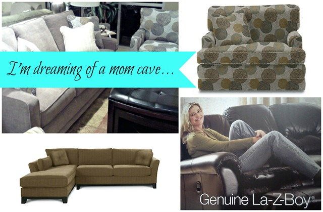 I'm Dreaming of #momcave with La-Z-Boy furniture