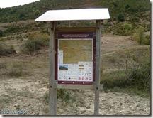 Panel informativo ruta Elke - Valle de Arce