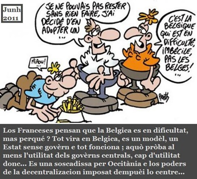 Belgica umor francés