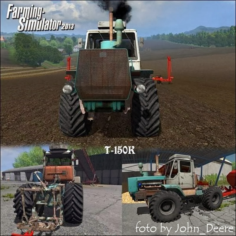 Farming simulator 2013 - T 150 v 1.0