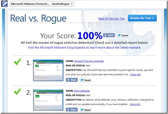 Quiz Microsoft Real vs. Rogue