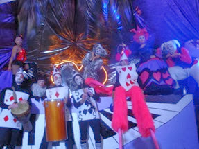 Alice in Wonderland - Circus entertainment