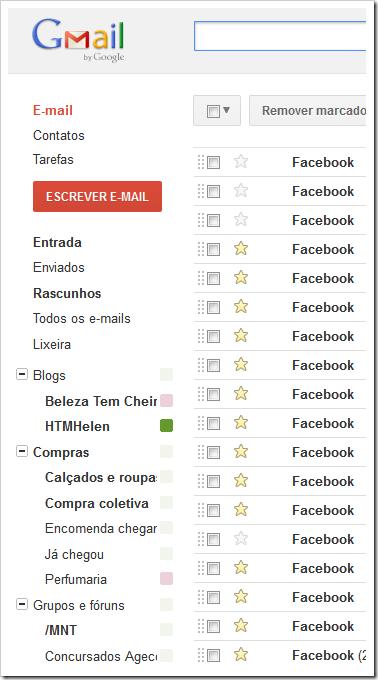 Mensagens do Facebook