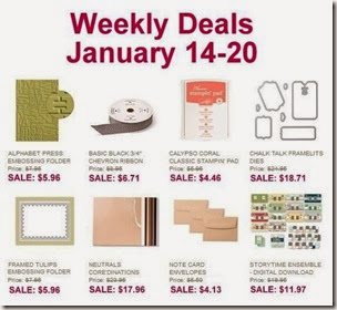 weekly deals january 14