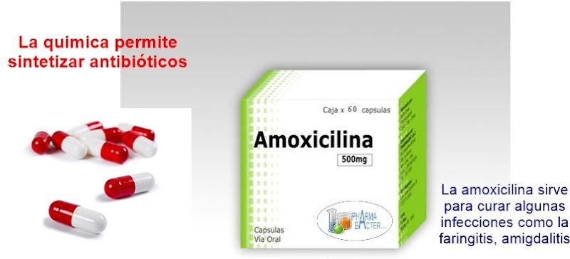 importancia quimica en medicina - antibioticos