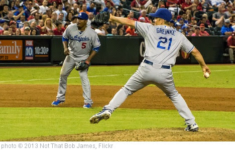 'Greinke's Strong Start' photo (c) 2013, Not That Bob James - license: https://creativecommons.org/licenses/by-nd/2.0/