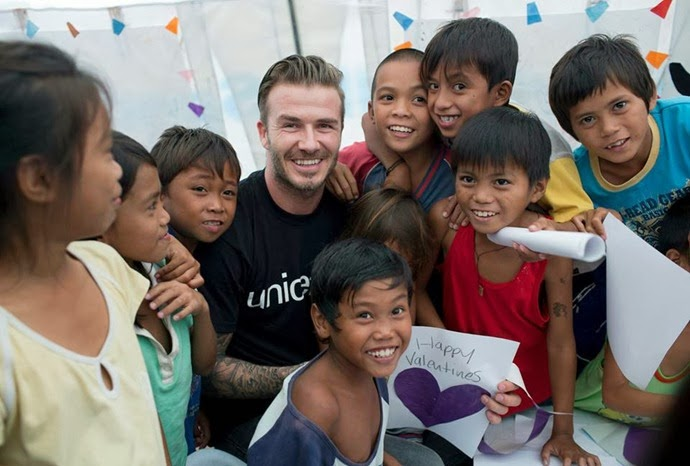 David Beckham Typhoon Haiyan Unicef (10)