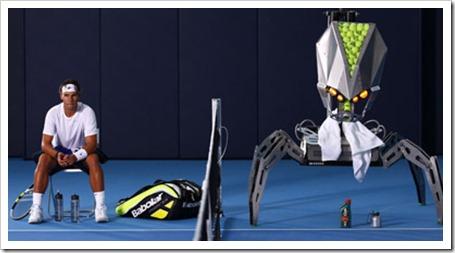 Concurso: juega al tenis online y en persona contra Rafa Nadal gracias a la firma Bacardi.