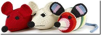 Doudous crochet souris