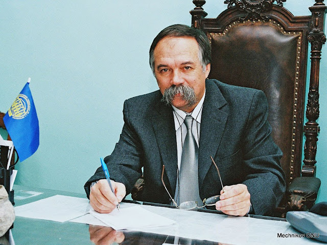 Dean Candidate of Historycal Sciences Vyacheslav Grigorievich Kushnir