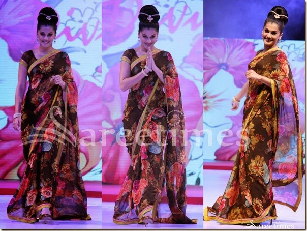 Taapsee_Floral_Print_Saree(1)