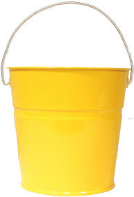 (Sunshine Yellow Pail, bucket-outlet.com)
