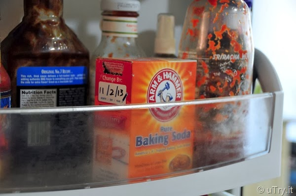 How to Remove odor from the refrigerator and the sink
