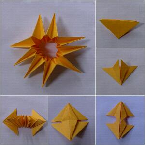 Wini home origami 3d nanas for Creative ideas step by step