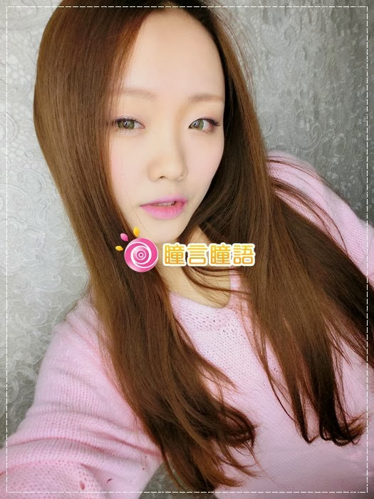 韓國GEO隱形眼鏡-GEO Sparkling 火花四色綠綠色美瞳003