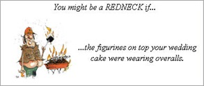 Redneck wedding joke