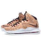 nike lebron 10 gr cork championship 16 02 @KingJames Wears NSWs Nike LeBron X Cork Off the Court