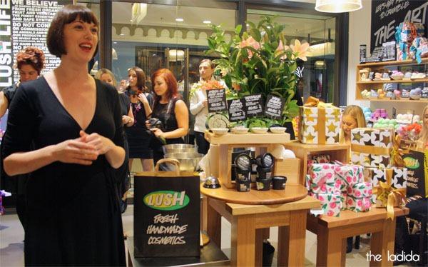 Lush Bloggers Event Sydney QVB Store (2)