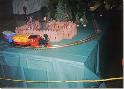 34 Playmobil Layout at the Lewis County Mall in January 1998