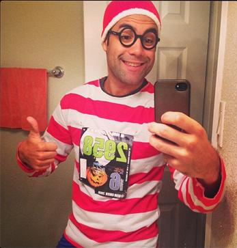 Wheres Waldo Race Outfit - MRK814