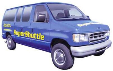 supershuttle aeropuerto
