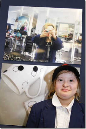 Hannah Kelly aged 15 who took part in the transition project