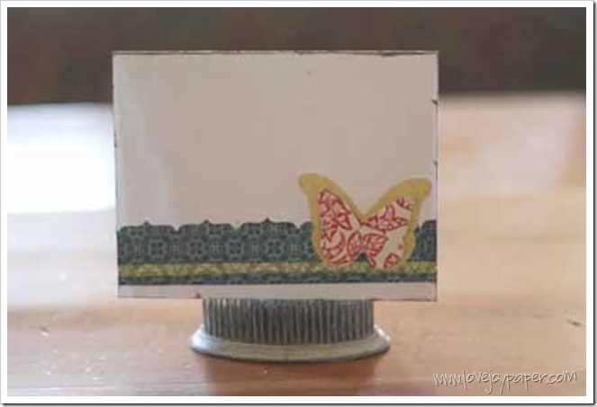 LoveJoyPaper butterfly card