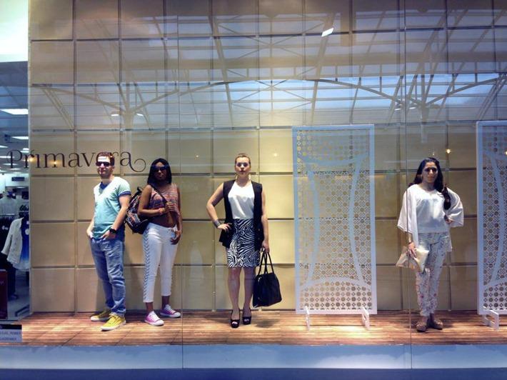 Shopping Estacao Loja Renner Vitrine Viva Manequins