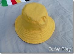 Inside yellow hat