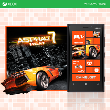 Asphalt 7 Heat Windows Phone
