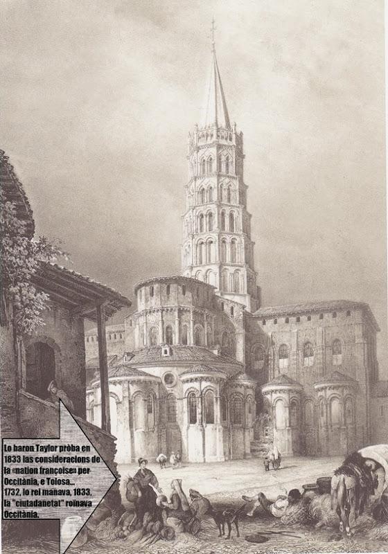 Tolosa en 1833 la roïna francesa