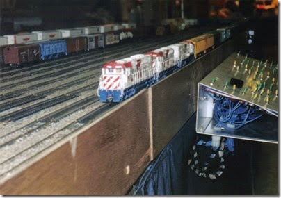 33 LK&R Layout at the Lewis County Mall in January 1998