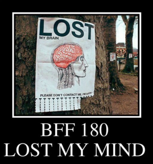 BFF 180 ~ LOST MY MIND
