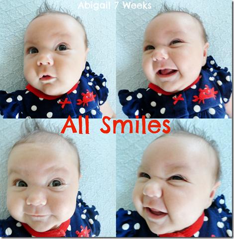 Abigail 7 weeks