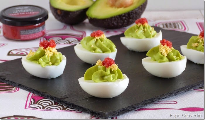 huevos rellenos aguacate espe saavedra