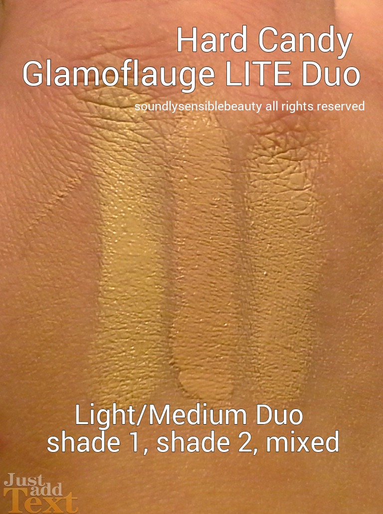 Hard Candy Glamoflauge LITE Concealer Review & Swatches of Shades
