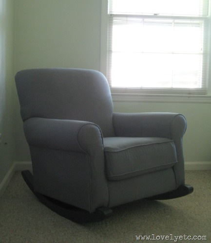 upholstered rocker 2