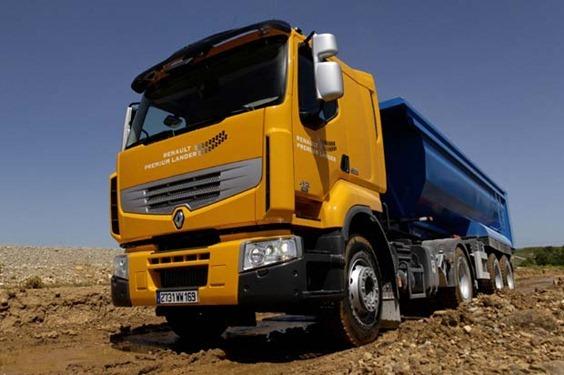 Serie Camiones Renault Premium Lander