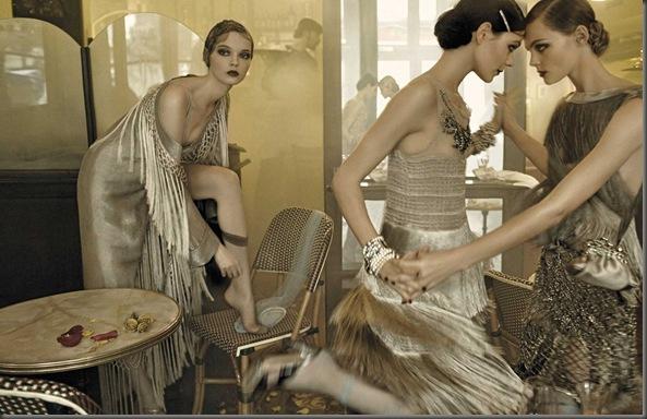 Alberta Ferretti Spring-Summer 2009 Womens Ad Campaign