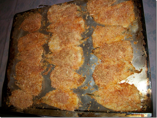baked breaded fish