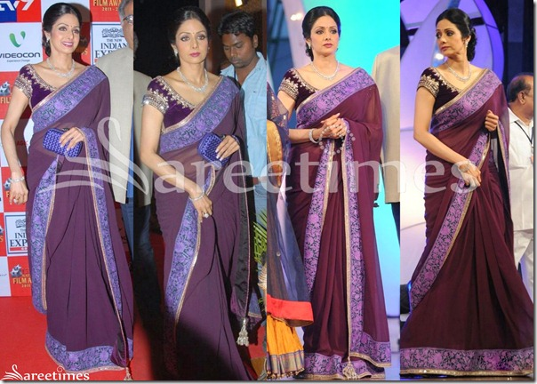 Sridevi_Purple_Manish_Malhotra_Saree