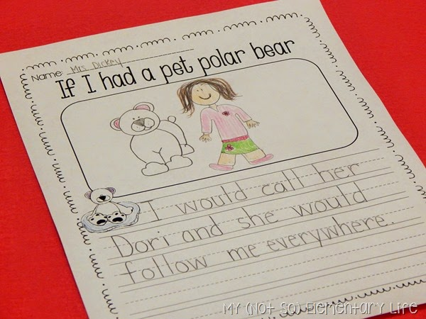 Polar Bear Unit Writing Prompt