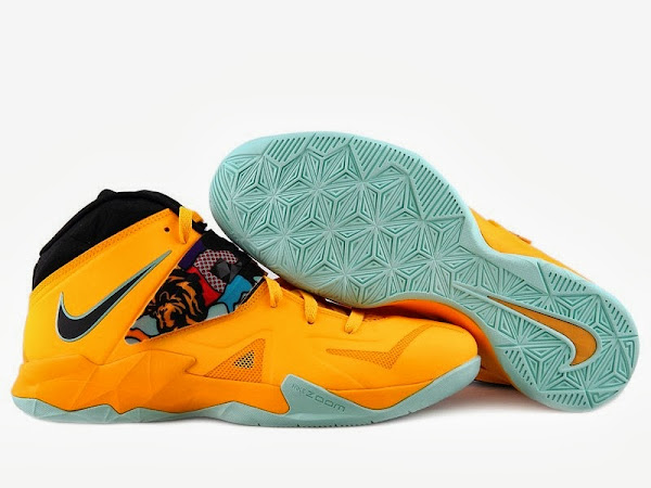 Upcoming LeBron Nike Zoom Soldier VII 8220Pop Art8221 8211 New Pics