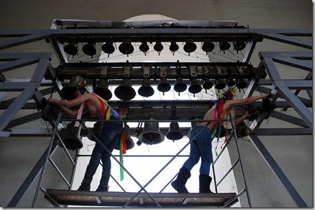 Акция FEMEN у Софийского собора