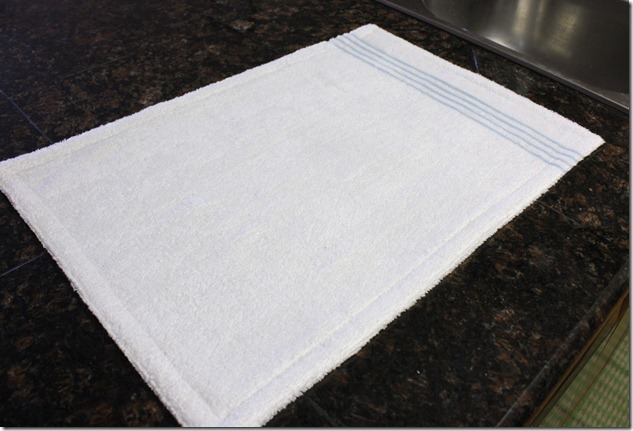Drying Mat Back