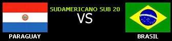 Paraguay vs Brasil en vivo