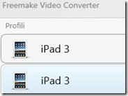 Convertire video per il Nuovo iPad con Freemake Video Converter