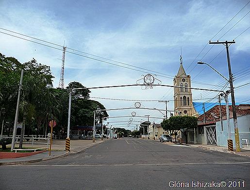 Glória Ishizaka - Guaiçara -  rua das barracas da quermesse de São João
